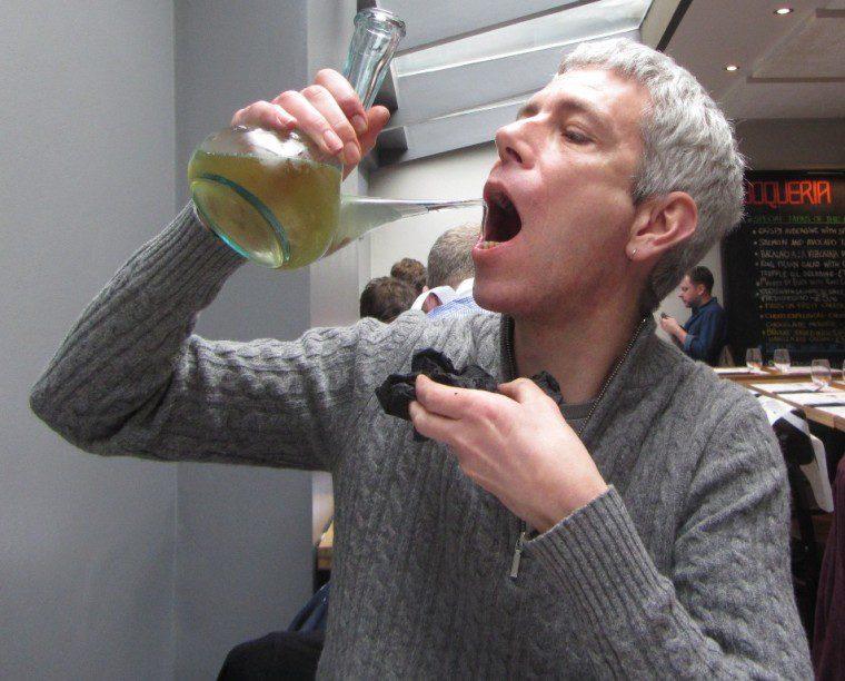Bocqueria - Calcodates - drinking