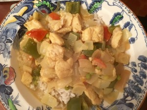 Adrian's Recipe For Coconut Fish Curry
