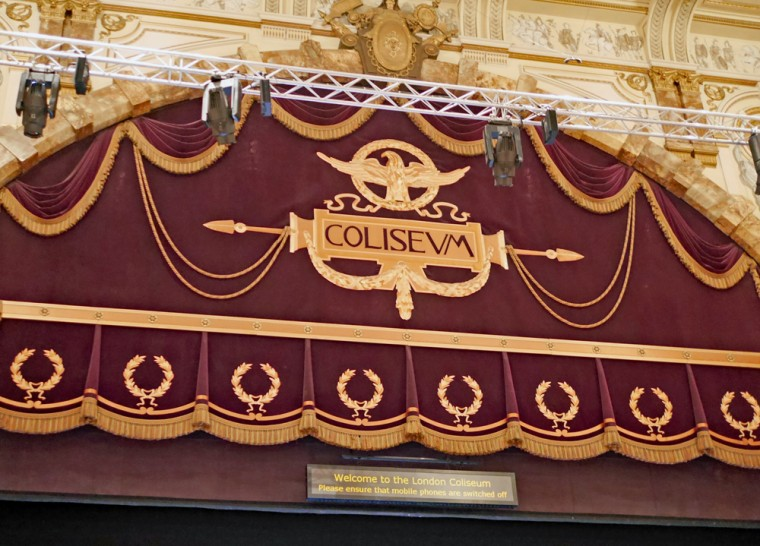 Coliseum Curtain header