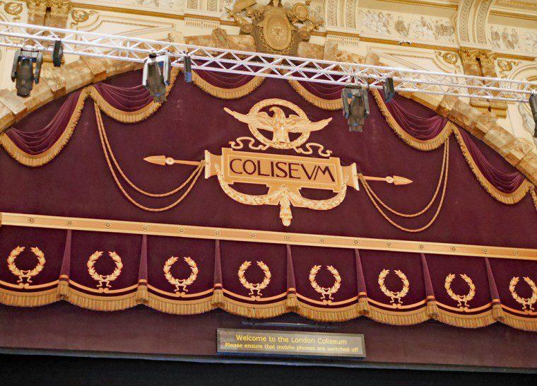 Coliseum Curtain header