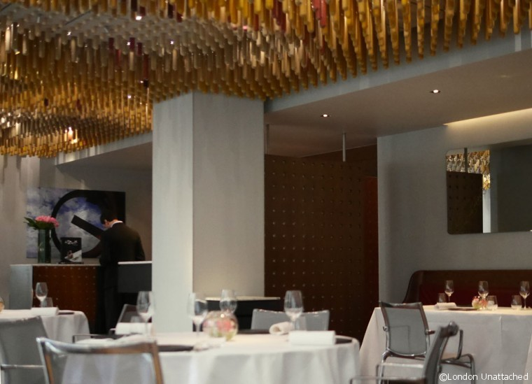 Dining Room Ametsa - Halkin Hotel