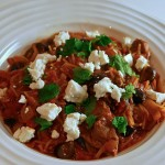 The Taste of Greece – Lamb Casserole with Kalamata Olives