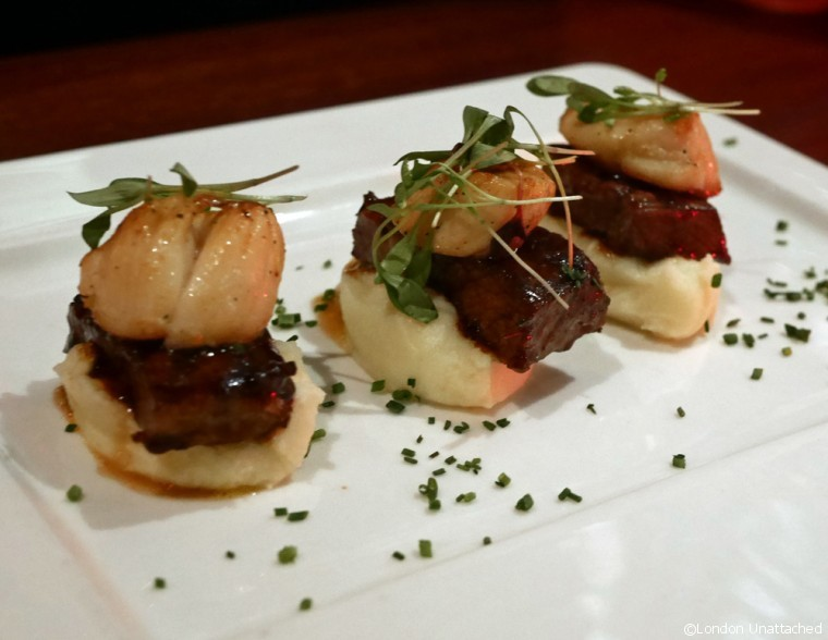 Meat & Co Rib meat Scallop Trio