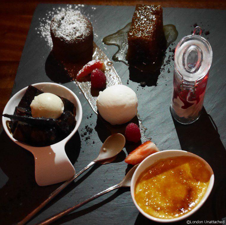 Meat Co Dessert Platter