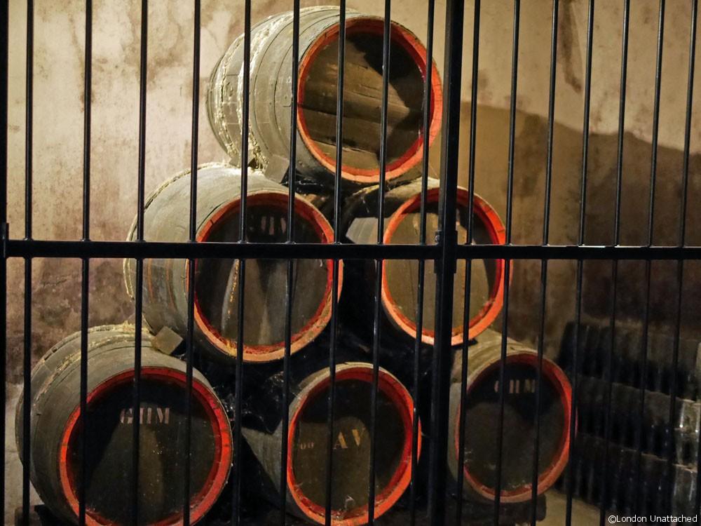 Mumm Champagne Barrels