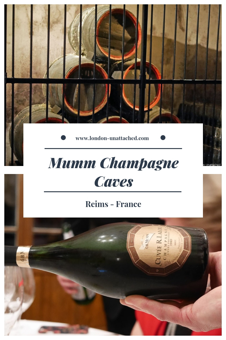 Mumm Champagne Caves - Reims, France