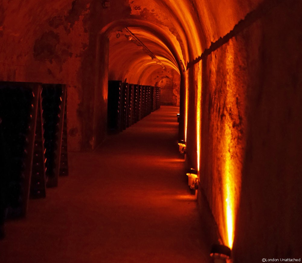 Mumm champagne cellars in Reims