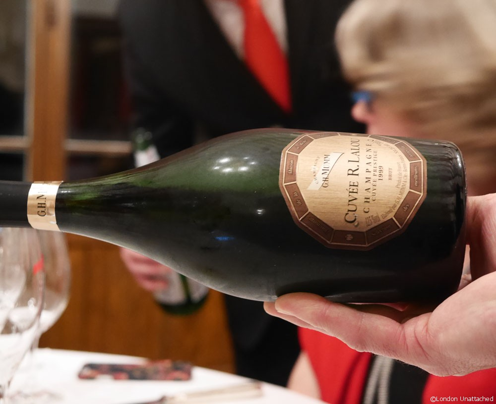 Mumm dinner champagne