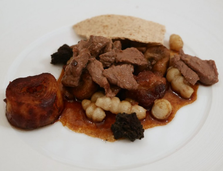 Mumm dinner - meat