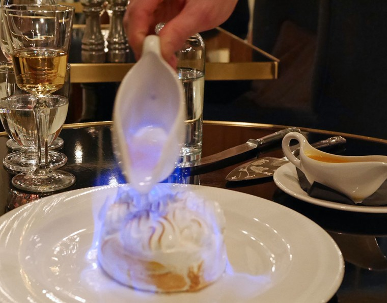 Plum and Spilt Milk Baked Alaska 3