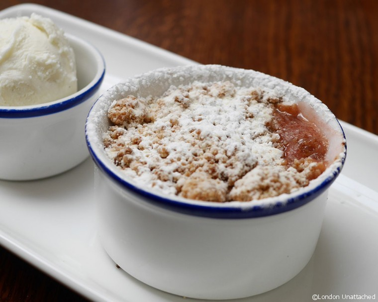 The Clarence - Crumble to share