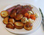 Welsh Roast Beef Dinner