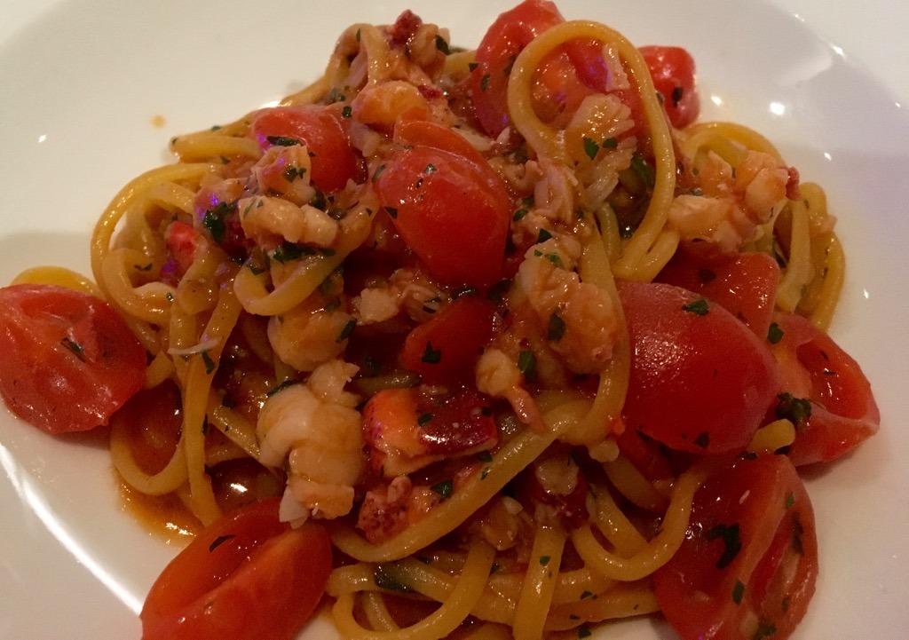 Diciannove crab pasta