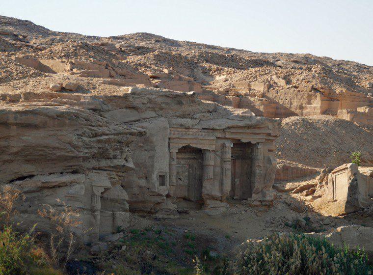 Egypt Quarry temple Gebel Silsila