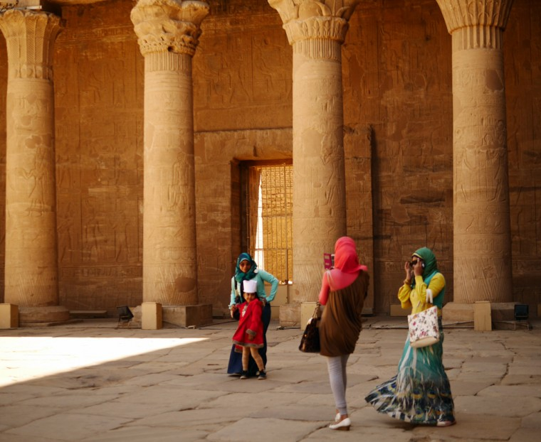 Egypt Temple Women