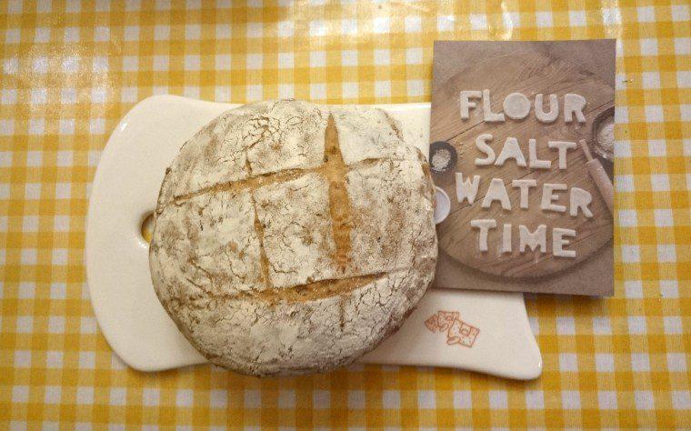 Pain Quotidien Baking Flour Bread Water