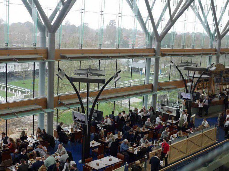 Hospitality options at Royal Ascot