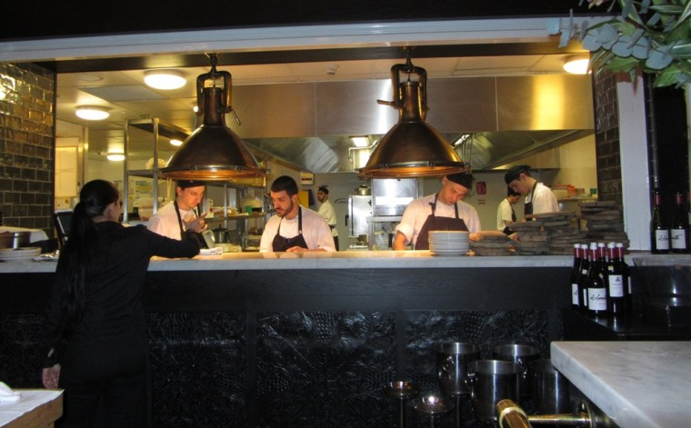 Iberica - kitchen at work