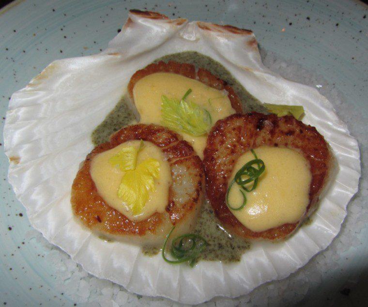 Iberica - scallops