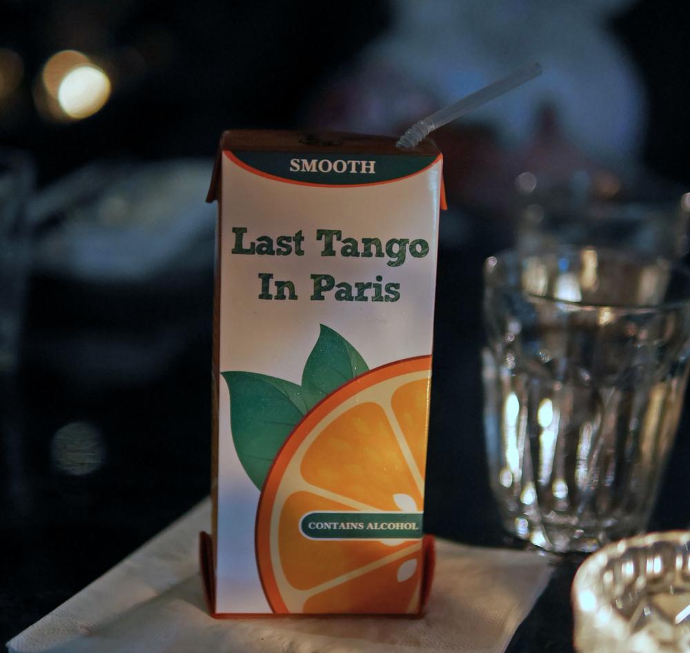 Last tango in Paris at the Blind Pig