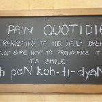 Bienvenue Au Pain Quotidien