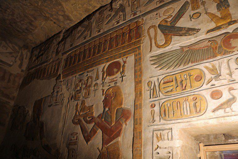 Luxor Karnak Temple Wall Decorations