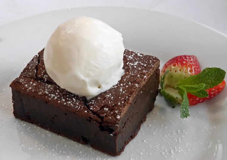 Marcos NYC Italian - chocolate brownie
