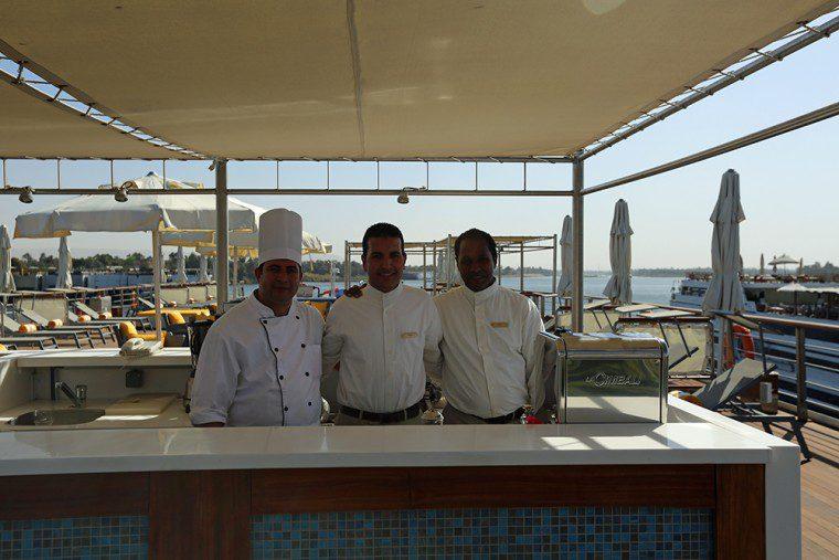 Oberoi Philae Chefs