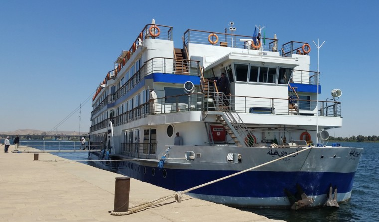 Oberoi Philae docked