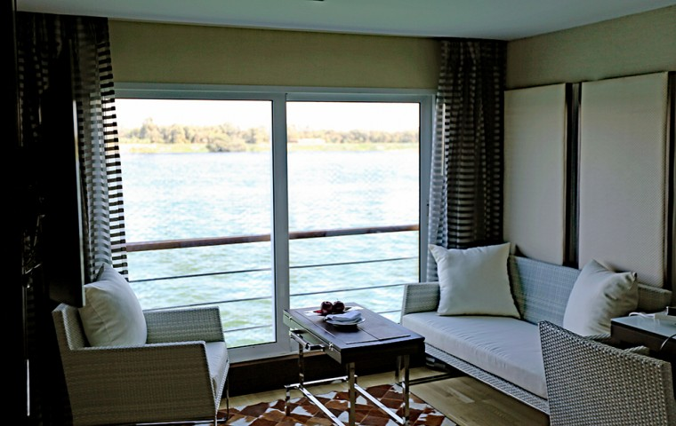 Oberoi Philae view from cabin