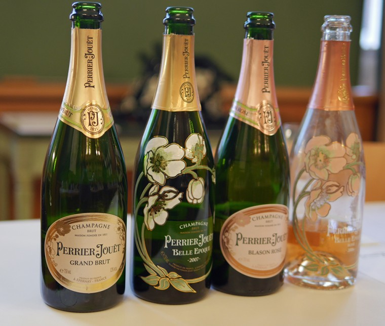 Perrier Jouet Old Bottles