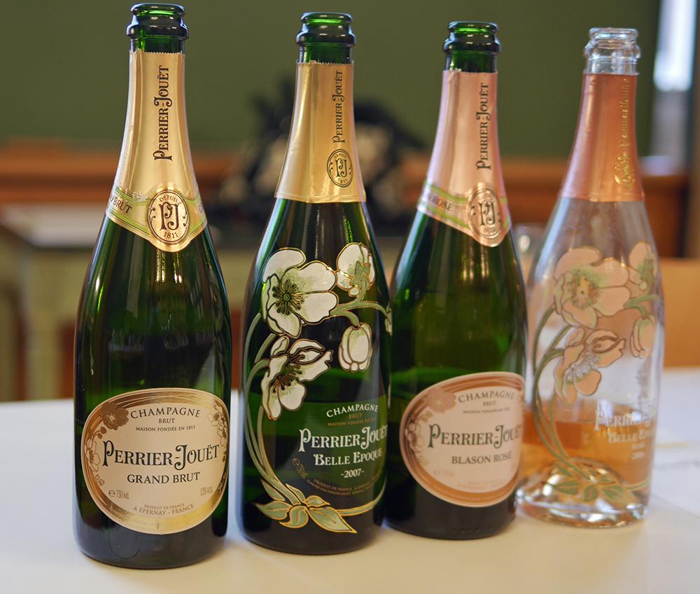 Perrier Jouet Champagne Tasting
