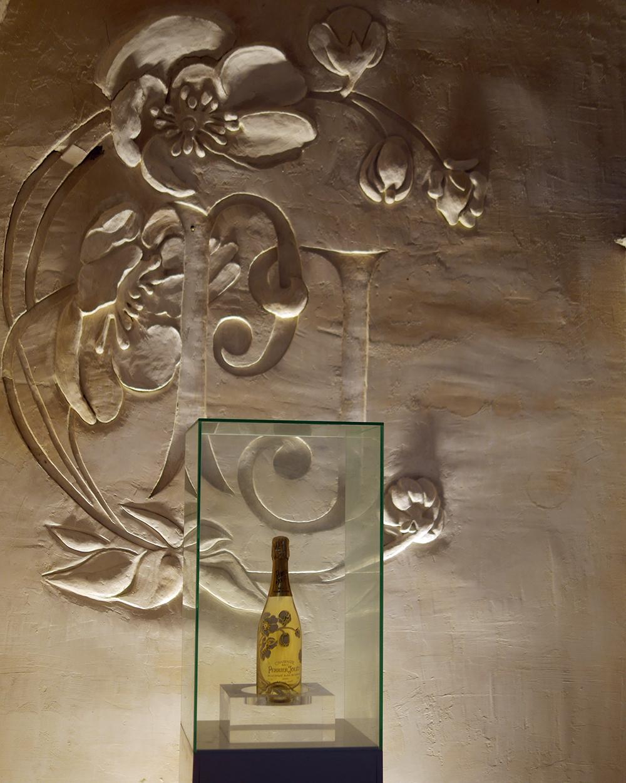 Perrier Jouet Champagne Bottle
