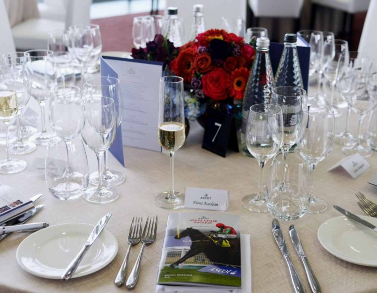 Royal Ascot Place Setting