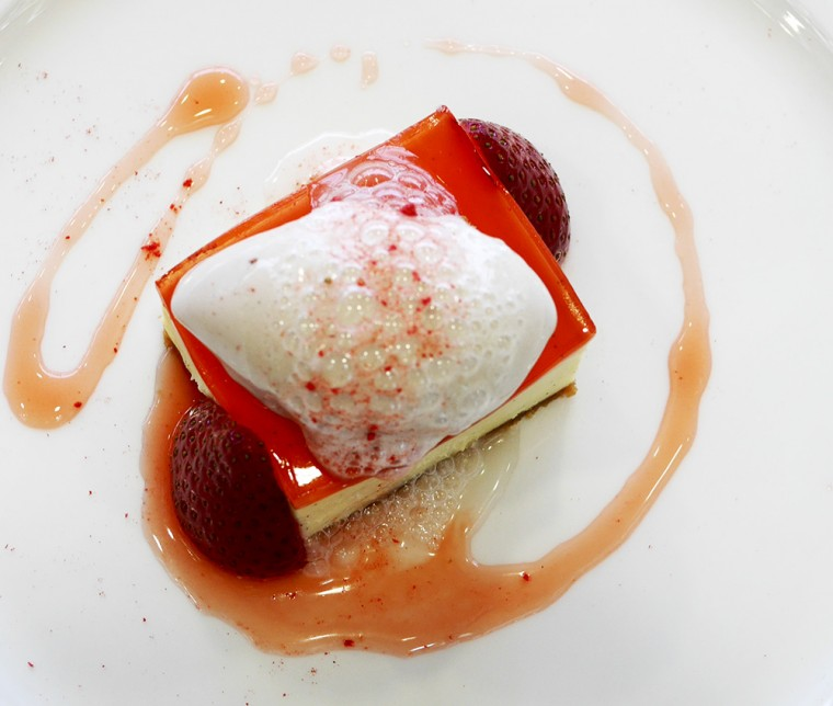 Royal Ascot Strawberry dessert