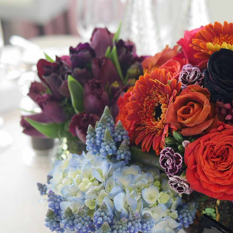Royal Ascot, Table Flowers