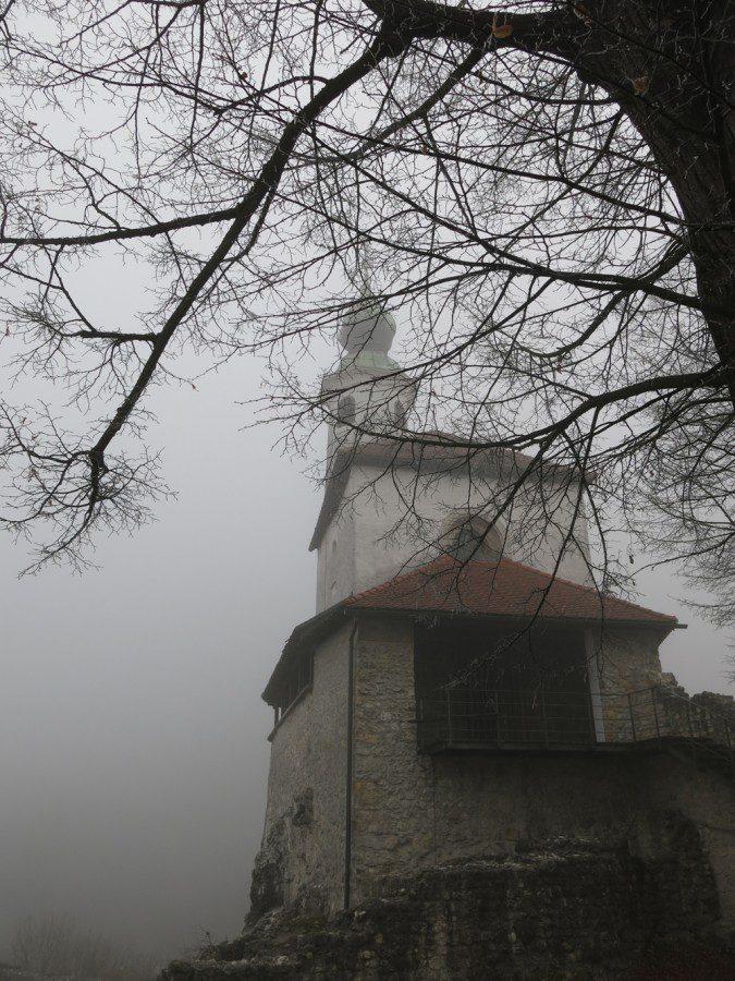 Slovenia Fog
