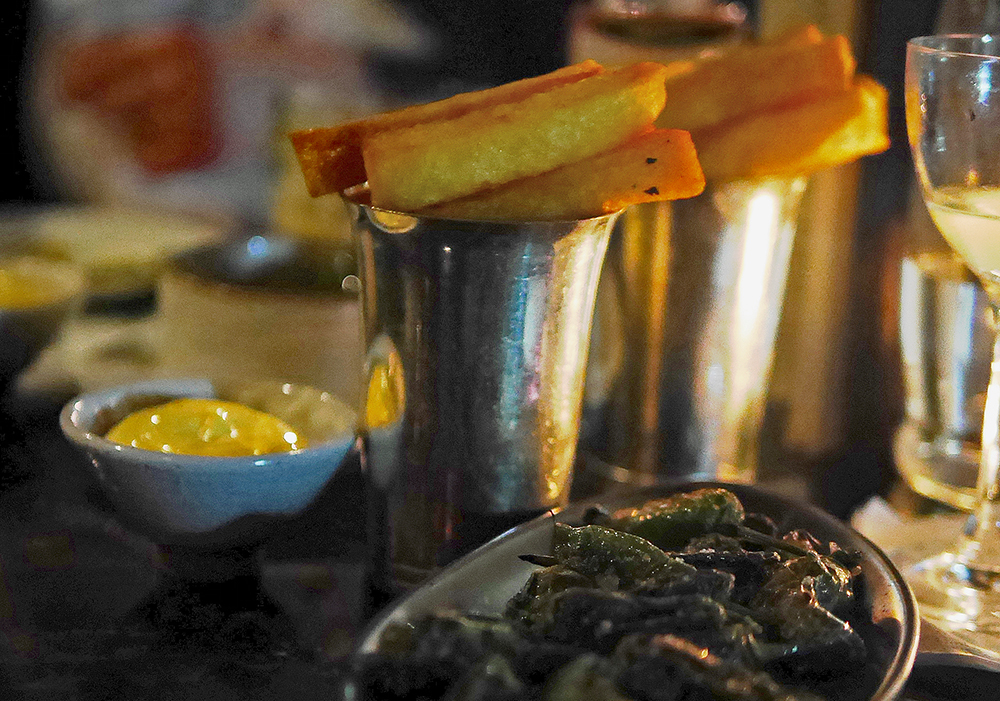 The Blind Pig - Padron Peppers and Chips