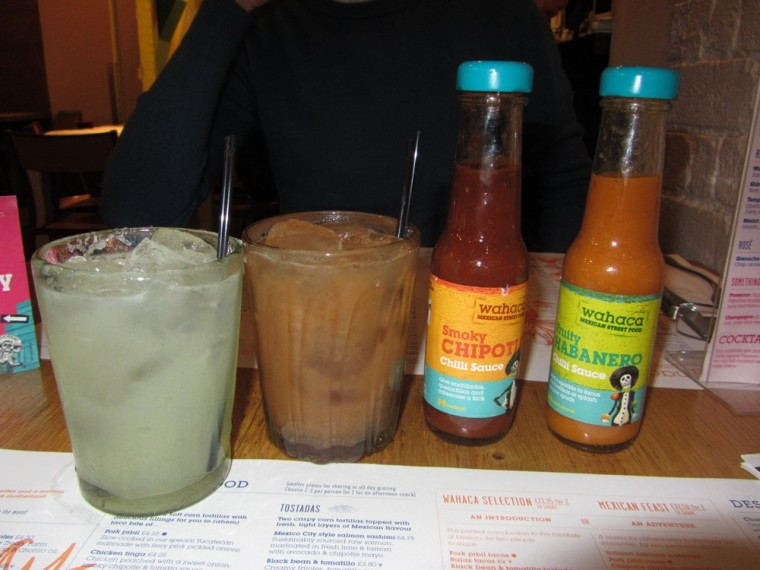 Wahaca - cocktails