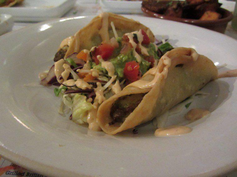 Wahaca - crispy prawn taco