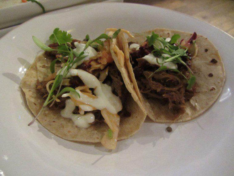Wahaca - slow cooked lamb taco