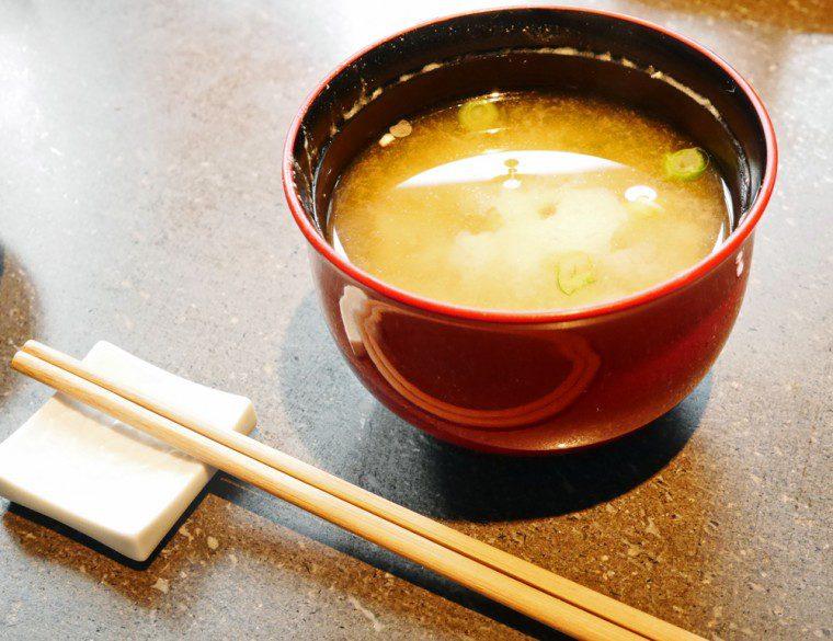 Miso Soup Sake no Hana
