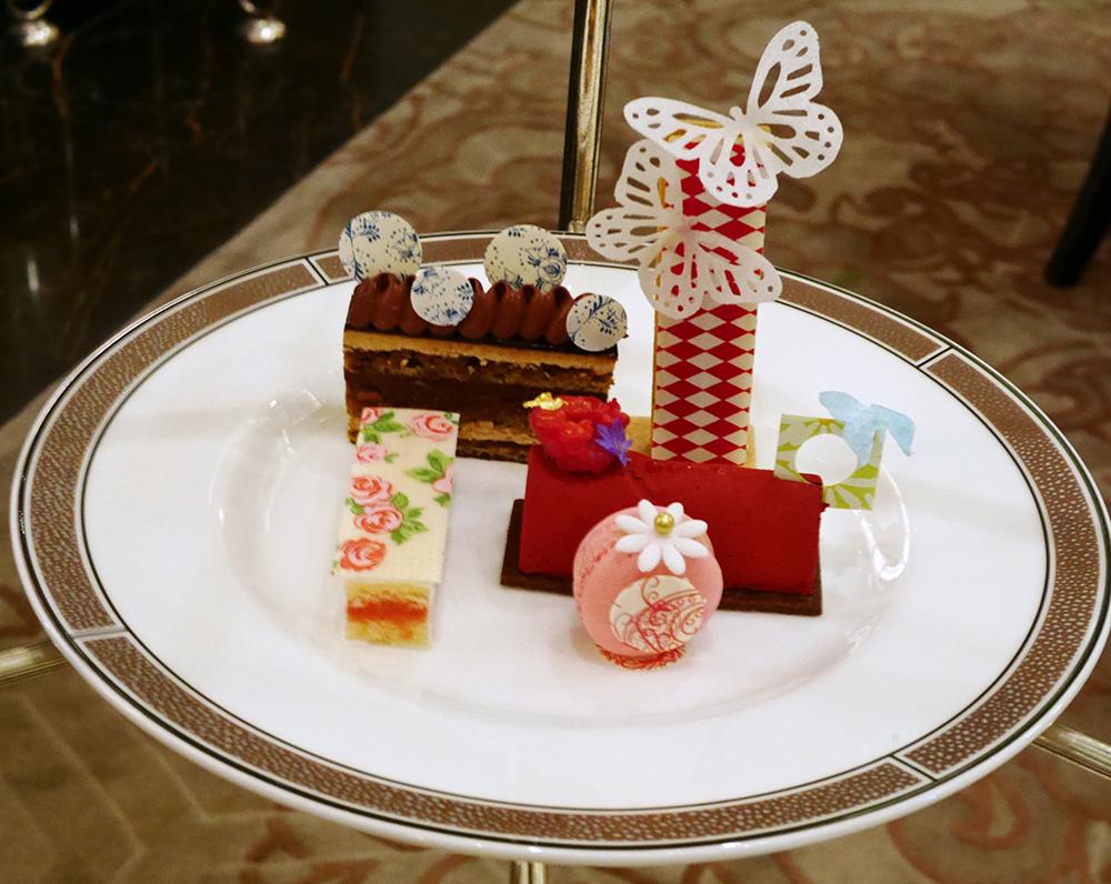 Palm Court, The Langham, cakes