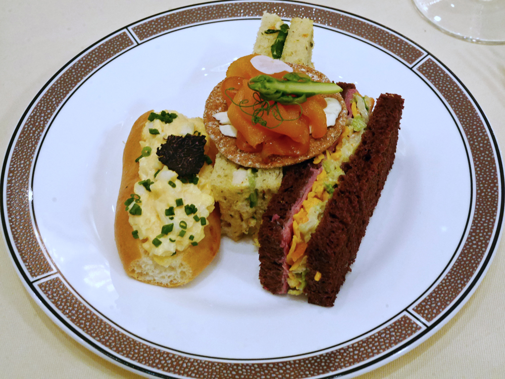 Palm Court, The Langham - plated Sandwiches