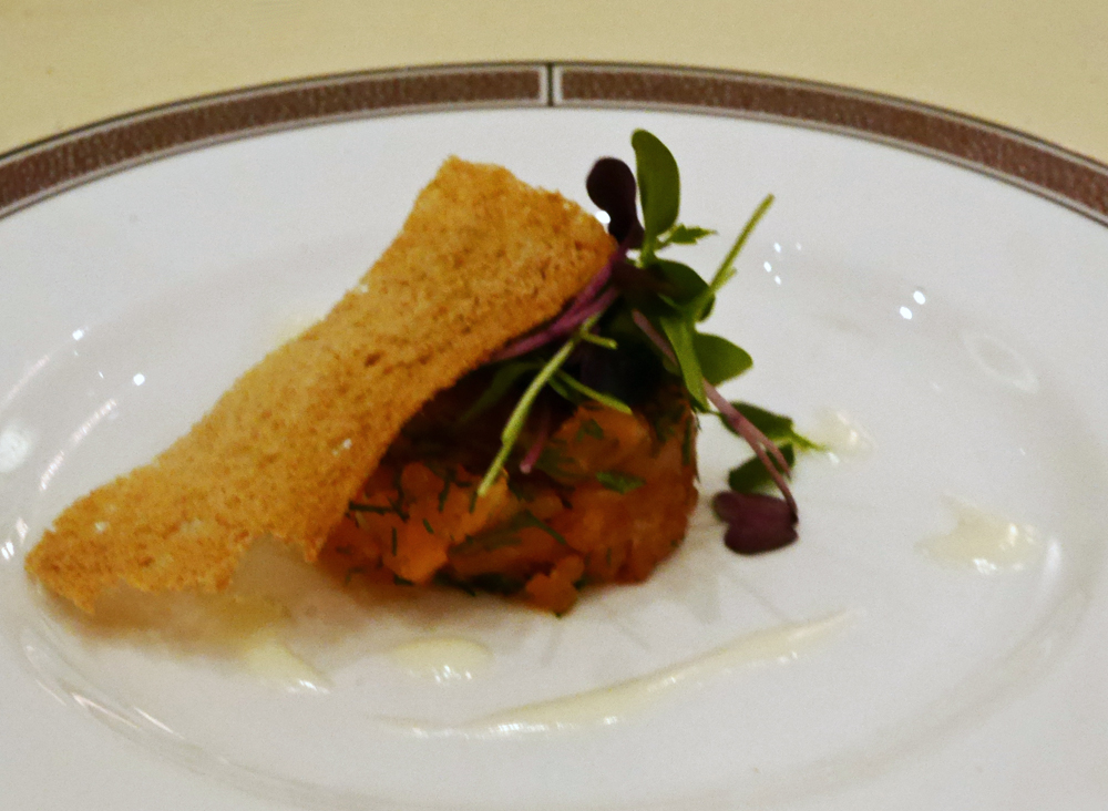 Palm Court, The Langham, salmon tartare