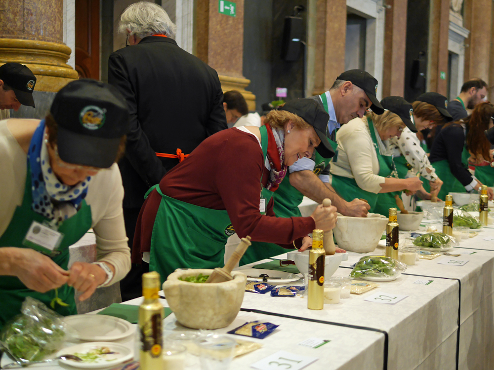 Pesto World Championships in Action
