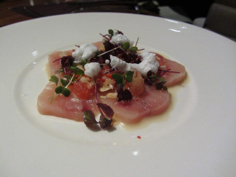 STK - Swordfish ceviche