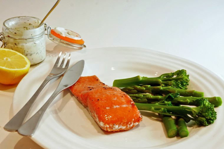 Sous-vide Salmon in a thermocook or thermomix.