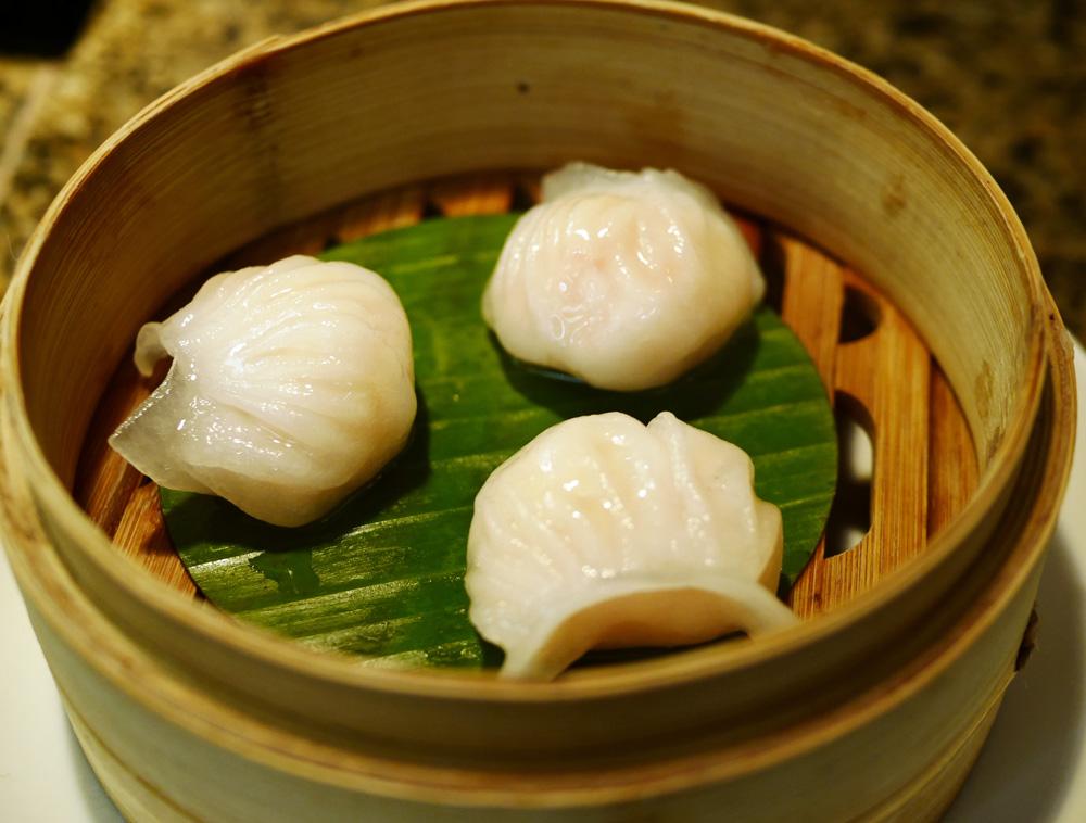 Shrimp with White Truffle Oil Dim Sum