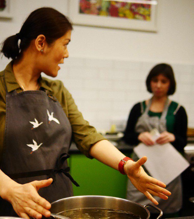 Yuki gomi cooking